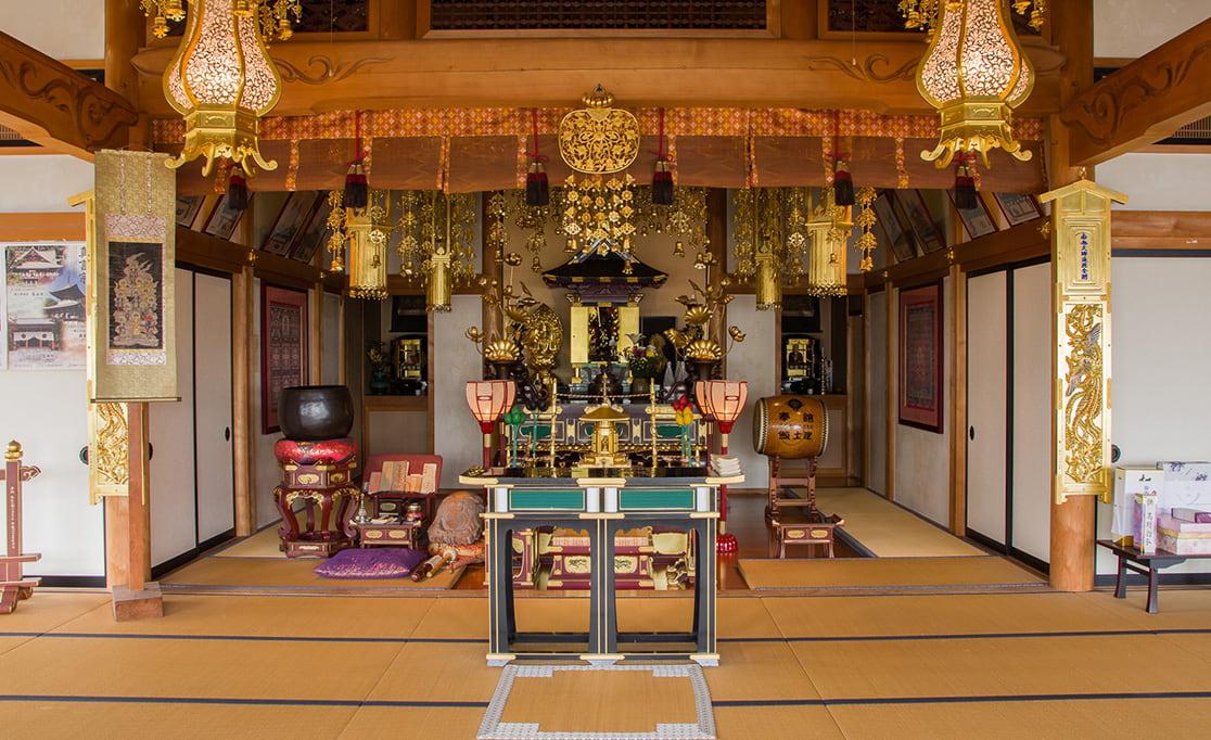 埼玉の吉見町にある寺院・真言宗智山派岩室山龍性院
